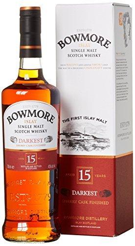 Bowmore Darkest 15 - £39 Amazon - usually around £52 - amazing Islay for the price