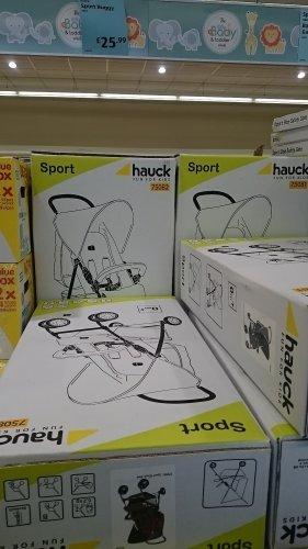 Hauck Black & Red Sport Buggy £25.99 @ ALDI