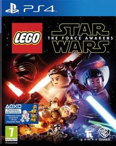 [PS4] LEGO Star Wars: The Force Awakens-£14.83 (FunBoxMedia Via Ebay)/£14.85 (ShopTo Via Ebay)