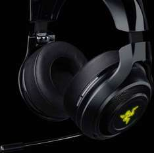 Razer ManO'War Wireless 7.1 Surround Sound Gaming Headset (PC/PS4) - Black @ Amazon Lightning Deal £89.99