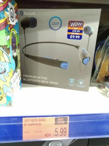 Ijoy premium active bluetooth headband £5.99 instore @ B&M