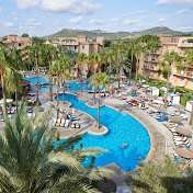 From London Gatwick (or Doncaster for £7 more pp): Family Holiday to Majorca 4*plus Hotel, inc luggage, transfers £122.49pp Total Cost £489.97 @ Thomson Holidays