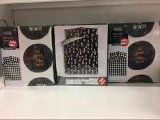 Asda clearance for duvet covers single double king superking reduced to £2 instore