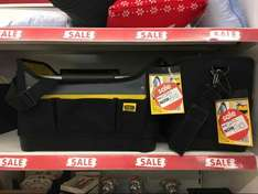 """Stanley 16"""" Tote Sac Waterproof tools bag reduced from £20 now £10 Asda in store"""