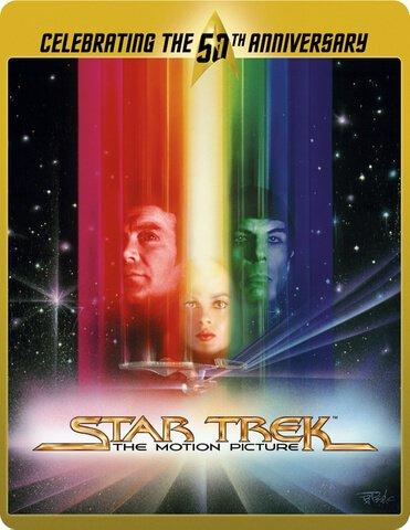 Star Trek: Limited Edition 50th Anniversary Steelbooks 1-10 (Blu-Ray) £9.99 Each Delivered @ Zavvi