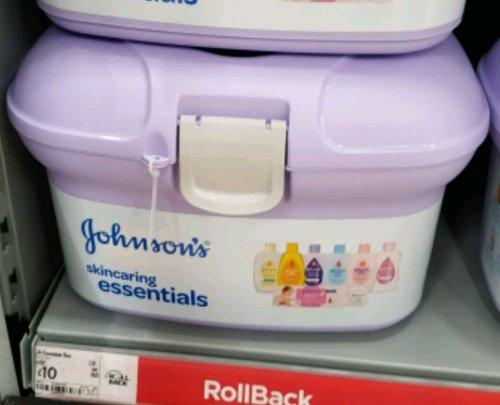 Johnson's baby Skincaring Essentials Box £10 @ Asda online & instore