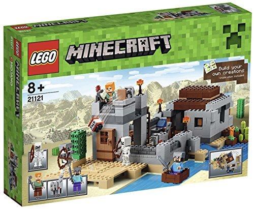 Lego Minecraft 21121 Desert Outpost £34.99 @ Amazon
