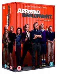 Arrested Development - Complete Seasons 1-4 DVD £9.99 with free delivery @ zavvi