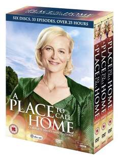 A Place to Call Home - Seasons 1-3 DVD Boxset £17.99 with Free Delivery @ zavvi