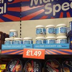Coco fresh coconut oil £1.49 instore at b&m
