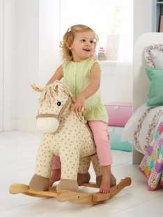 George Home Wooden Rocking Horse £20