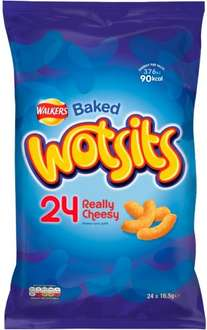 Walkers Wotsits (24 Pack x 16.5g) ONLY £1.00 @  Poundstretcher