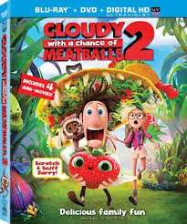 Cloudy With a Chance of Meatballs 2 3D Blu Ray (New) £2.99 at That's Entertainment instore