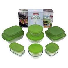 Pyrex Prep, Cook and Store 9 Piece Dish Set £12.50 instore Tesco