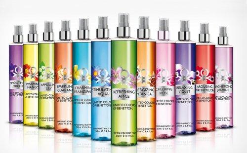 Benetton Refreshing Body Mist for women 250ml £4.99 for five. @ Clear Chemist