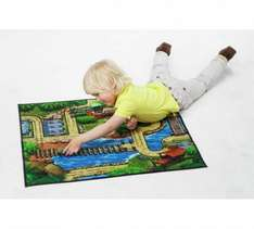 Chad Valley Double Sided Playmat + 2 Vehicles £3.99 Was £9.99 Argos (Free C&C)