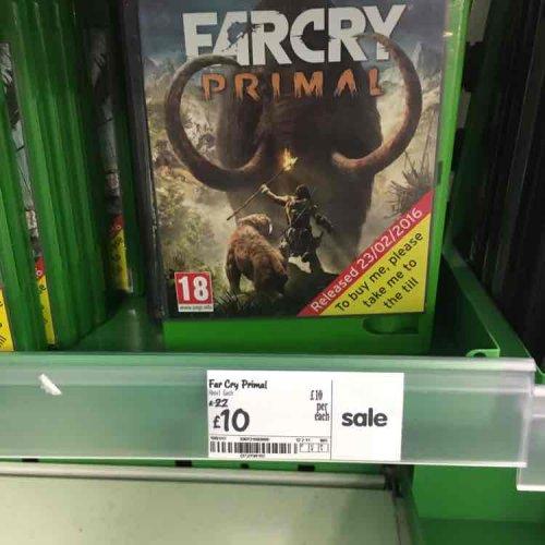 Farcry Primal Xbox One £10 Instore at Asda