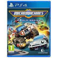 micro machines World Series Xbox one/PS4 £21.95 PC £20.95  preorder @ 365games