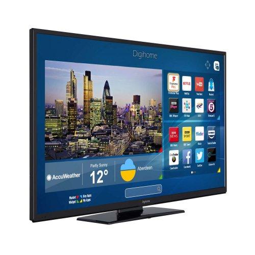 Digihome Black - 50inch 4K Ultra HD LED TV, Smart, WiFi £314.99 @ Co-op