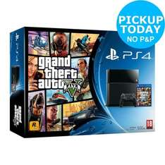 PS4 500GB Console with GTA V only £199.99 @ Argos eBay