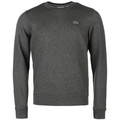 Lacoste Fleece Crew Sweater Charcoal £38 @ USC