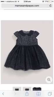 Mamas and papas clothes sale items from £1.20 - dress in picture was £29 now £2.90 @ Mamas and Papas