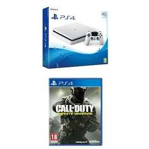 Sony PlayStation 4 PS4 Slim Glacier White 500GB + Call of Duty Infinite Warfare £229 @ Amazon (pre order Jan 24)