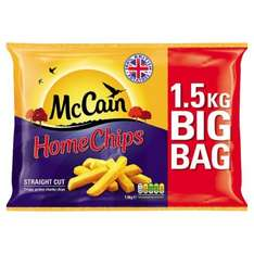 McCain home chips 1.5kg 63p @ Tesco in-store