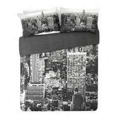 New York Double Duvet set only £7.99 @ Argos (5432879)