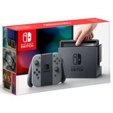 Nintendo Switch Console with Grey - Nintendo UK Store - £279.99 DAY ONE