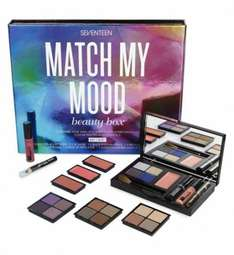 Seventeen Match My Mood beauty box 70% off in store £12 @ Boots