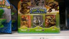Skylanders Swap force 3 pack £3.99 @ Home Bargains - Bristol