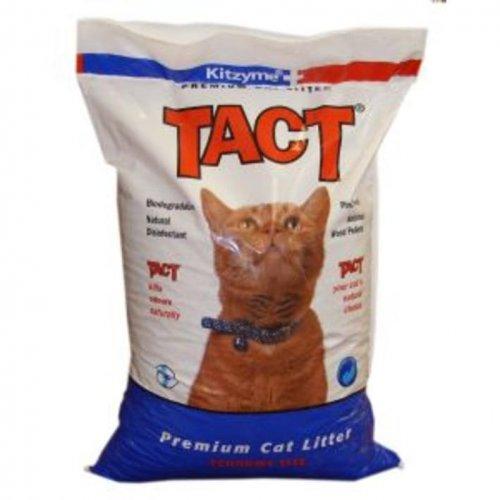 Kitzyme TACT Wood Based Cat Litter 30L (18.4kgs) - Morrisons £4
