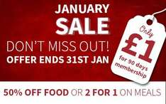 Get a 90 Day Tastecard for just £1 - Dont forget to Cancel though!