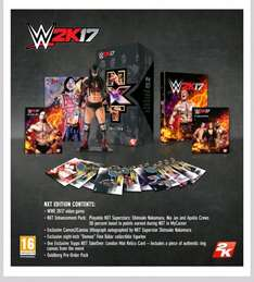 WWE 2K17 NXT EDITION (PS4) for £43.99 instore @ GAME