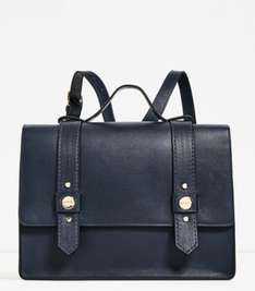 Zara Blue Crossbody/Backpack Bag was £29.99 now £12.99 plus loads of others in sale and free C&C @ Zara