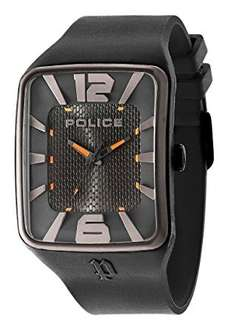 Police Men's PL.94741AEU/02P Quartz Watch with Black Dial Analogue Display and Silicone Strap £58.05 Amazon