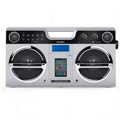 Bush Retro Boombox with Docking Station - Silver £27.99 at Argos