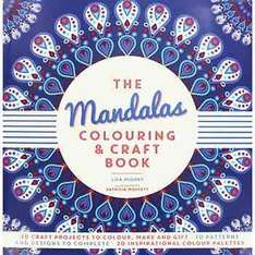 Mandalas Colouring & Craft Book Was £9.99 Now £0.80 C+C @ TheWorks + 23.1% Cashback
