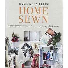 Home Sewn - Sewing & Craft Hardback Book Was £19.99 Now £3.20 C+C @ TheWorks + 23.1% cashback