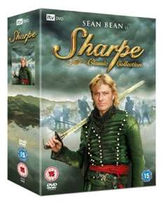 Sean Bean as Sharpe.. DVD box set £12.89 (used) @ musicmagpie +free delivery