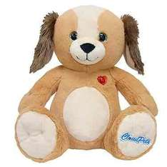 Cloud Pet 36cm interactive soft toy - various pets - £5.99 at THE ENTERTAINER (£3.99 del under £40 / FREE Click & Collect spend £10)