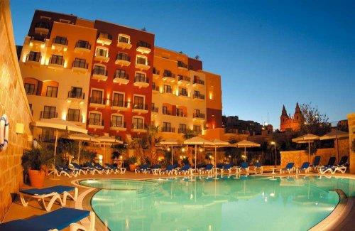 Malta Mellieha 7 days for 2 bed&breakfast included fly & transfer.4 stars hotel.luton 29.01-05.02 £280 On The Beach
