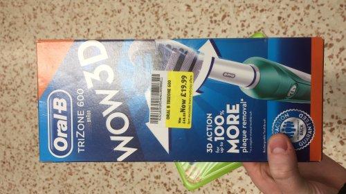 Oral-B Trizone 600 Electric Toothbrush - £19.99 @ Morrisons Cwmbran