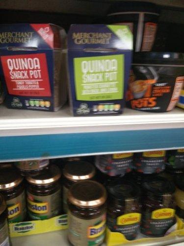 Quinoa Snack Pot Merchant Gourmet Poundland  £1