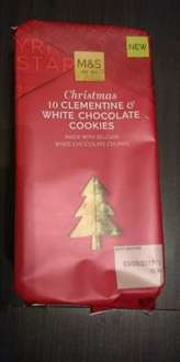 M&S Clementine & White Chocolate Cookies 25p INSTORE ONLY