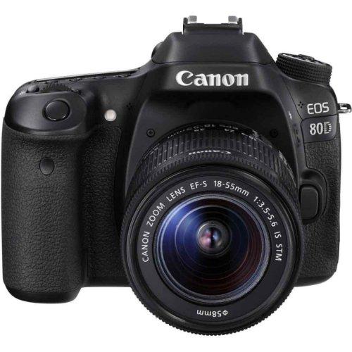Canon EOS 80D Kit with EF-S 18-55mm f/3.5-5.6 IS STM Lens Digital SLR Camera £769.99 @ EglobalCentral