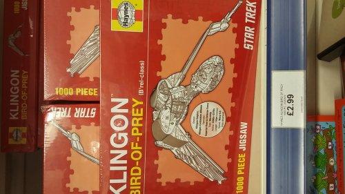 Haynes Star Trek Klingon Bird of Prey 1000pc Puzzle just £2.99 at Bargain Buys