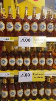 Old Golden Hen Golden Ale 750ml £1 at Tesco instore
