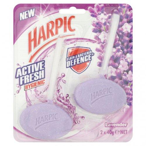 Harpic Hygienic Lavender Rim Blocks £1 were £1.96 @ Morrisons